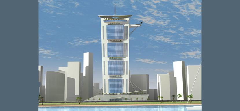 Studio di un grattacielo, Dubai, 2009